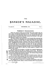 The Bankers Magazine [vol. 50] (pg. 972)
