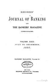 The Bankers Magazine [vol. 51]