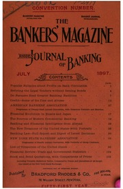 The Bankers Magazine [vol. 55]