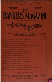 The Bankers Magazine [vol. 57]