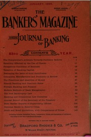The Bankers Magazine [vol. 58]