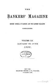The Bankers Magazine [vol. 60]