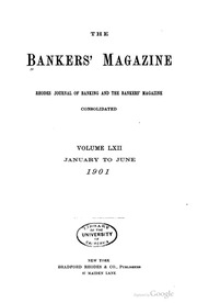 The Bankers Magazine [vol. 62]