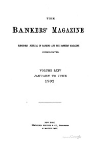 The Bankers Magazine [vol. 64]