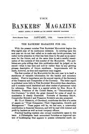 The Bankers Magazine [vol. 68]