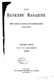 The Bankers Magazine [vol. 79] (pg. 398)