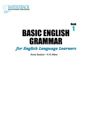 Basic English Grammar Book 1 : Free Download, Borrow, and Streaming