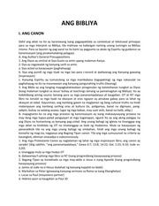 Bible Interpretation Seminar Textbook, Tagalog version : Dr