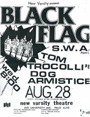 Wayback Machine Asheville 1984 >> Internet Archive Search Subject Black Flag