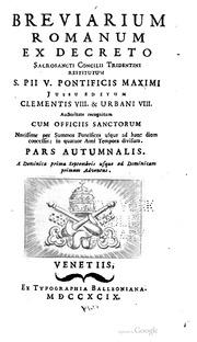 Breviarium Romanum 1962 Pdf