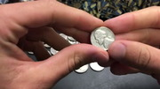 Buffalo Nickel and Silver Nickel FOUND Coin Roll Hunting $100 Nickels