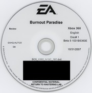 "Burnout Paradise (2007-10-31 ""Beta 5"" prototype)"