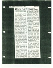 Byron Reed Collection Scrapbook (1 of 2)