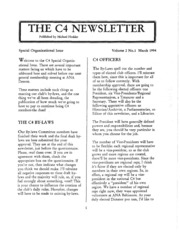 Picture of C4 Newsletter