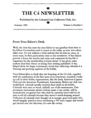The C4 Newsletter, Summer 1995