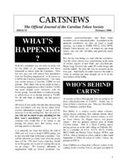 CARTSNEWS (February 2004)