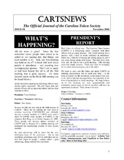 CARTSNEWS (November 2004)