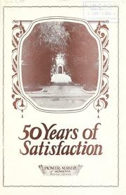 Vol 1926 50 Years Of Satisfaction Catalog Pioneer Nursery Monrovia