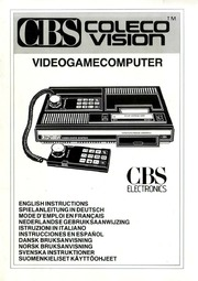 Console Manuals: Coleco ColecoVision : Free Texts : Free