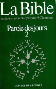 Livre des Chroniques 2