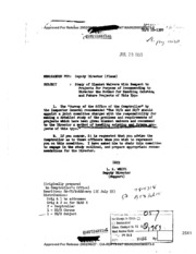 the primary objective of the central intelligence agency One of the main objectives in creating the cia was to prevent a repeat of the  pearl harbor intelligence failure, where bits of information that might have  provided.