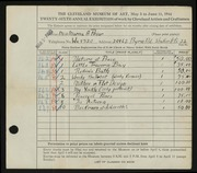 Entry card for Prior, Marna A. for the 1944 May Show.