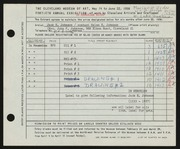 Entry card for Johnson, Jack E. for the 1958 May Show.