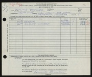 Entry card for Brucker, Edmund for the 1959 May Show.