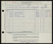 Entry card for Bulone, Joseph  for the 1959 May Show.