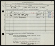 Entry card for Comey, Ralph Howard, Jr. for the 1959 May Show.