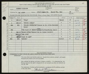 Entry card for Friedson, Herbert Harold for the 1959 May Show.