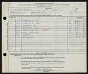 Entry card for Helman, Victor for the 1959 May Show.