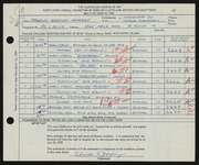 Entry card for Jeffery, Charles Bartley, and Wooddell, Joseph M. for the 1959 May Show.