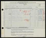 Entry card for Kord, Victor for the 1959 May Show.
