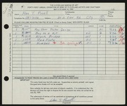 Entry card for Pucell, Alan T. for the 1959 May Show.
