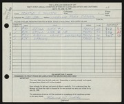 Entry card for Solotko, Edward J. for the 1959 May Show.