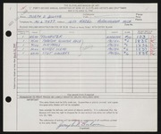 Entry card for Bulone, Joseph  for the 1960 May Show.