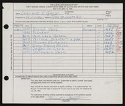 Entry card for Giorgi, Clement C. for the 1960 May Show.