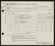 Entry card for Mieczkowski, Ed for the 1961 May Show.