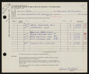 Entry card for Willard, Edward W. for the 1961 May Show.