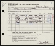 Entry card for Aidlin, Jerome M. for the 1962 May Show.