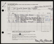 Entry card for Delamater, Mary Ellen for the 1962 May Show.