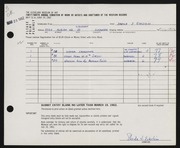 Entry card for Eckstein, Shelia J. for the 1962 May Show.