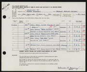 Entry card for Jeffery, Charles Bartley, and Wooddell, Joseph M. for the 1962 May Show.