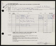 Entry card for Mulkerin, Herbert A. for the 1962 May Show.