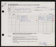 Entry card for Pillot, Larry W. for the 1962 May Show.