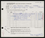 Entry card for Chasek, Denis F., and Parshall, Harriet Jane for the 1963 May Show.