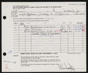 Entry card for Limbach, A., Jr.  for the 1963 May Show.
