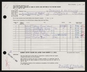Entry card for McMillen, Dorothy Ruby for the 1963 May Show.