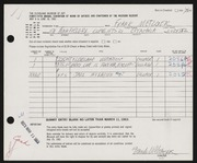 Entry card for Metzger, Frank for the 1963 May Show.